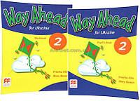Английский язык / Way Aheadfor Ukraine / Pupil's Book+Workbook. Учебник с тетрадью, 2/ Macmillan