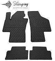 SEAT Alhambra II 2010- Комплект из 4-х ковриков Черный в салон