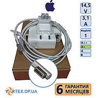 Зарядное устройство для ноутбука Apple L MagSafe 3,1A 14,5V класс A+ (AC-вилка в подарок) нов