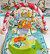 Детский развивающий коврик с пианино, микрофоном и пультом, со звуковыми эффектами, 9913 AB , фото 3