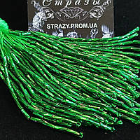 Стеклярус кручений Emerald 10 ниток 8см Chrisanne Glover Англія
