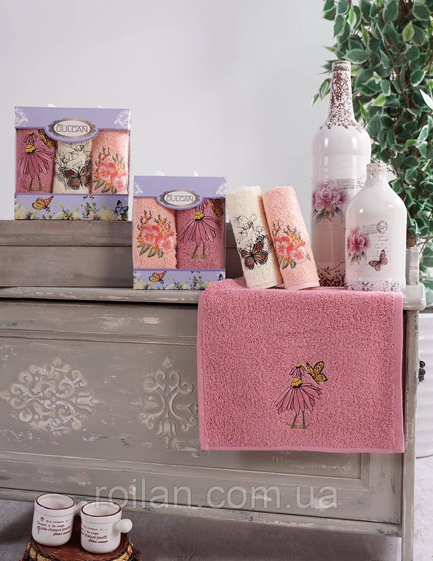 Набор кухонных полотенец Gulcan Цветы