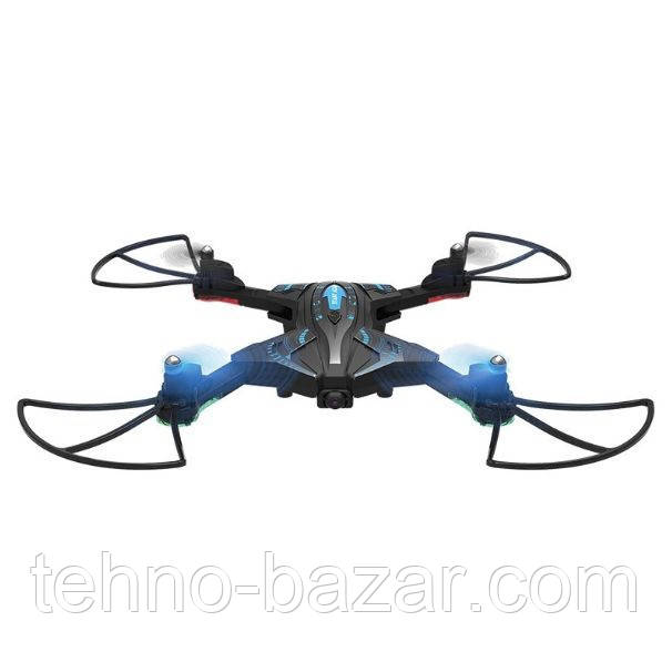Квадрокоптер дрон L600S Black WiFi FPV 2 камеры+оптический датчик удержания,6-ти осевая система стабилизации,