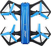 Квадрокоптер дрон JJRC H43WH з WIFI FPV камерою,барометр,автоповернення, світлодіодна підсвітка,500 маг, фото 5