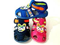 Босоножки-сандалии для мальчиков р16-18 (код 4421-00)