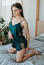 Шелковый комплект майка и шортики ТМ Orli, фото 3