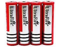 Аккумулятор 18650 6800 mAh 3,7V красный