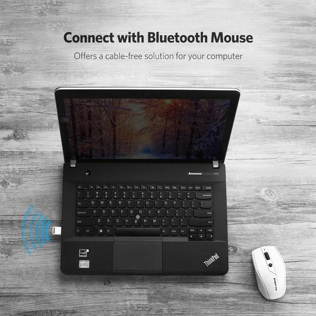 USB Bluetooth адаптер Ugreen беспроводной передатчик bluetooth 4.0 для компьютера US192 30524 Черный