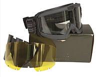 Очки тактические Brille ANSI EN 166 (Black)