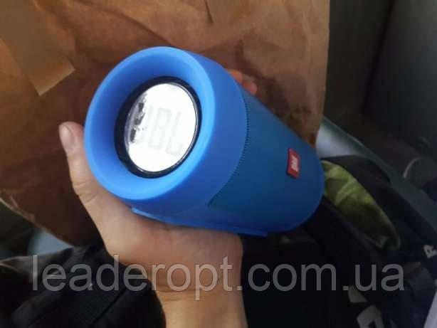[ОПТ] Портативная беспроводная колонка Bluetooth JBL Charge 2 Портативная акустика JBL (Синяя)