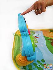Детский развивающий коврик с пианино и подвесками, со звуковыми эффектами, Huanger HE0612/ 0613, фото 3