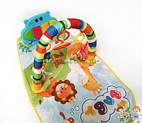 Детский развивающий коврик с пианино и подвесками, со звуковыми эффектами, Huanger HE0612/ 0613