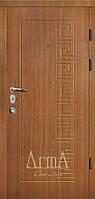 Двери входные Арма дуб рустикаль тип 13 модель 107 квартира