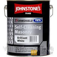 Краска для наружных работ, Джонстоун(Stormshield Self-Cleaning Masonry Johnstones) 10 л