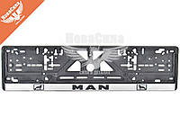 Рамка номерного знака (CarLife) (MAN)   NH66