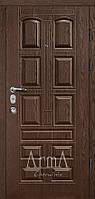 Двери входные Арма венге темный горизонт тип 13 модель 305 квартира