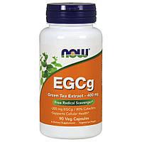 Комплекс з екстрактом зеленого чаю NOW Foods EGCg (Green Tea Extract) 400 мг (90 капс) (104721) Фірмовий