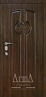 Двери входные Арма орех темный тип 13 модель 310 квартира
