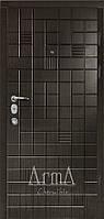 Двери входные Арма венге темный тип 13 модель 317 квартира