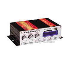 Усилитель звука UKC VA-502BT в машину с Bluetooth