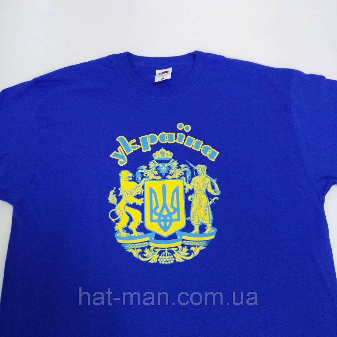 "Футболка ""Україна"" синя (марки Fruit)"