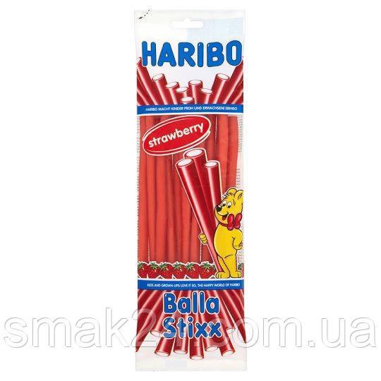 Желейні цукерки Haribo Balla Stixx Strawberry (полуниця) Німеччина 200г