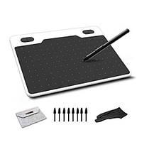 Графический планшет 10Moons T503 для рисования с чехлом и перчаткой / 8192 уровней