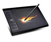Графический планшет 10Moons для рисования с Чехлом и Защитной пленкой