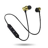 Беспроводные Bluetooth наушники гарнитура H21 Золотой