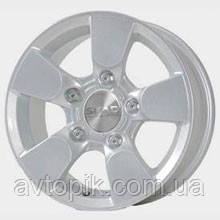 Литые колесные диски Скад: цвет Платина