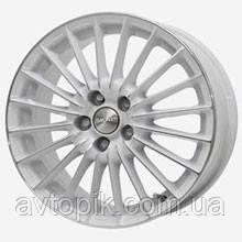 Литые колесные диски Скад: цвет Белый-алмаз