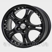 Литые колесные диски Скад: цвет Черный матовый