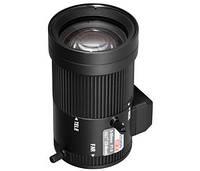 Hikvision TV-0550D-MPIR. 3 Мп ИК-объектив с автодиафрагмой оснащен вариофокальным фокусным расстоянием от 5 до 50 мм.