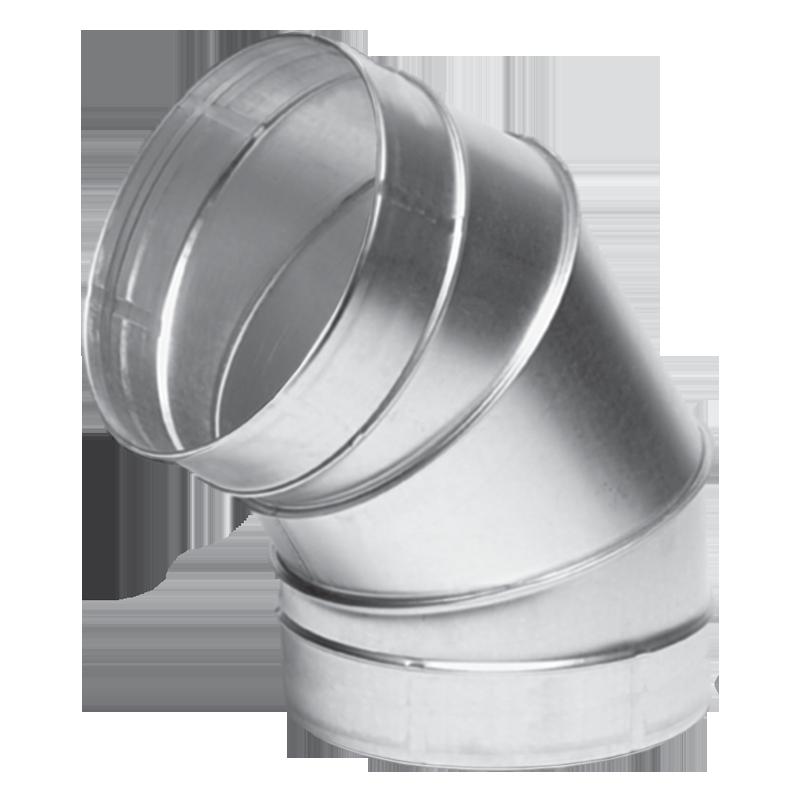 Отвод вентиляционный круглый Вентс 60-630