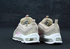 Кроссовки  Найк Nike Air Max 97 Begue/Pink. ТОП Реплика ААА класса., фото 2