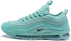 Кроссовки  Найк Nike Air Max 97 Green. ТОП Реплика ААА класса.