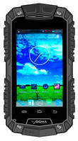 Противоударный смартфон Sigma Х-treme PQ15 черный, черно-зеленый, черно-оранжевый