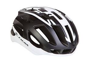 Шлем велосипедный CIGNA TT-4 L (58-61см) (чёрно-белый)