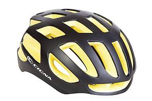 Шлем велосипедный СIGNA TT-4 L (58-61см) (черно-желтый)