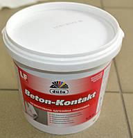 Пигментированная адгезионная грунтовка Beton – Kontakt  Dufa 1,4 кг