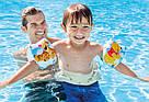 """Нарукавники детские надувные """"Винни Пух"""" Intex 56663 20х15 см, фото 2"""