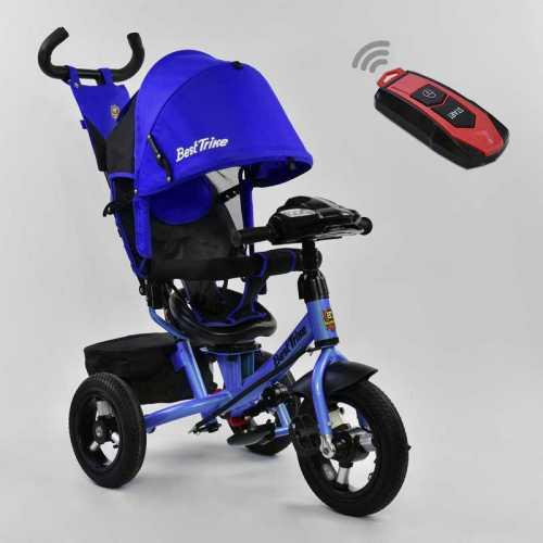 Трехколесный детский велосипед Best Trike (7700 В - 1745) Неоновый синий