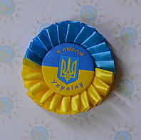 Значок Украина с розеткой Символика