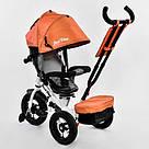 Трехколесный детский велосипед Best Trike (7700 В - 6090) Оранжевый, фото 5