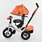 Трехколесный детский велосипед Best Trike (7700 В - 6090) Оранжевый, фото 2