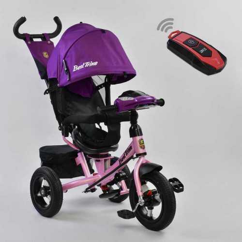 Трехколесный детский велосипед Best Trike (7700 В - 7599) Фиолетовый