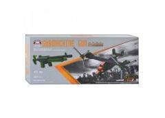 Конструктор 2 в 1 (самолет/оружие) 452дет. в кор. 50х23х5,5см. 81056 (24)