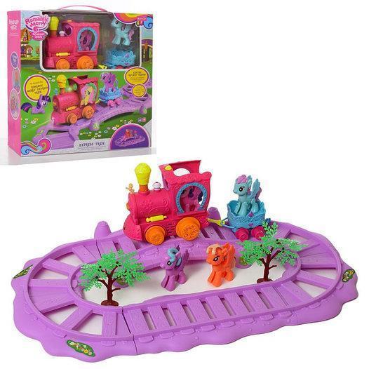 Дитячий ігровий набір Паровоз Romantic Merry Поні 88360