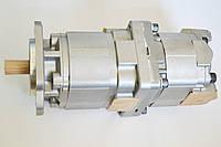 705-52-31080 Гидравлический насос на погрузчик Komatsu WA600-3, фото 1