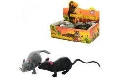 Животное-антистресс мышка 9см., 24шт. в дисплее 28х15х8,5см. 7218 (432)